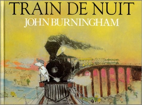 Train de nuit de John Burningham