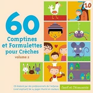 60 comptines et formulettes pour crèches de Marie-Françoise Cattenoz