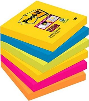 Acheter un bloc de Post-it de toutes les couleurs