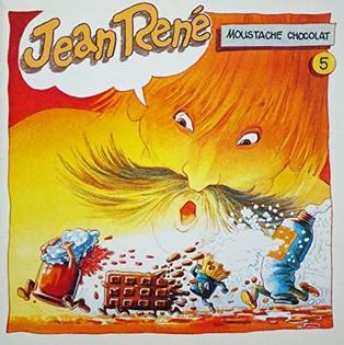 Moustache chocolat Volume 5 de Jean René : La princesse qui se grattait les fesses