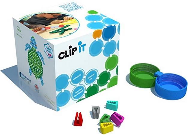 Boîte de 400 Clip it, Jeu créatif d'assemblage
