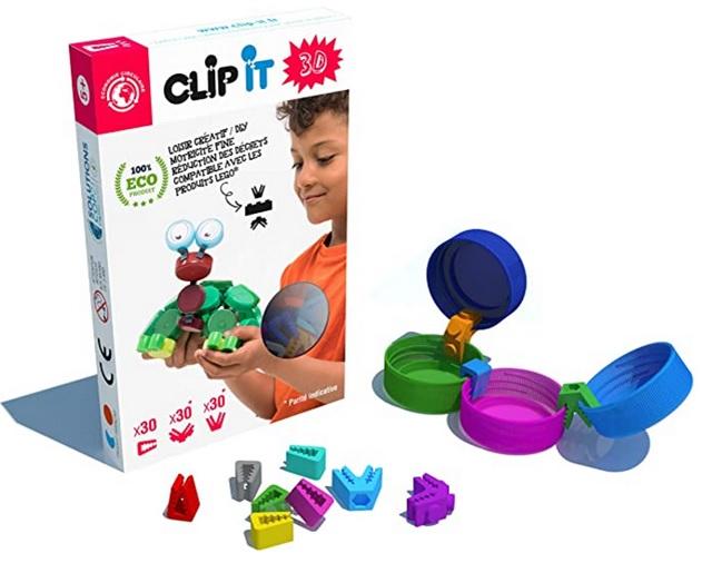 Clip it 3D Jeu d'assemblage