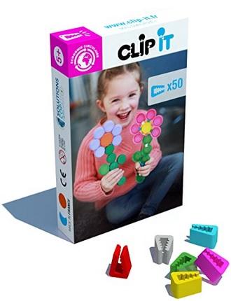 Jeu d'assemblage Clip it Modèle Fleur