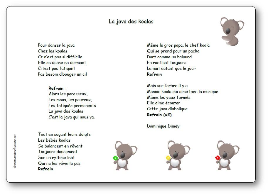 La java des koalas de Dominique Dimey