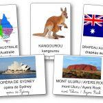 Imagier de l'Australie