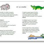 Comptine Ah ! Les crocodiles