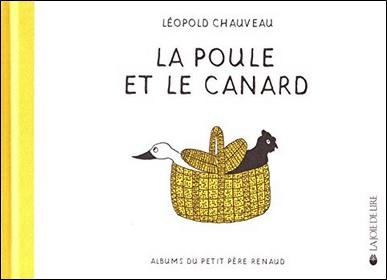 La poule et le canard de Léopold Chauveau