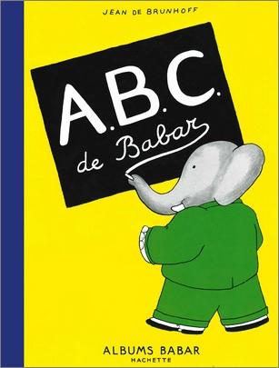 ABC de Babar de Jean de Brunhoff