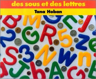 Des sous et des lettres de Tana Hoban