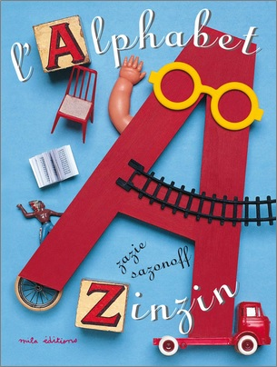 L'alphabet zinzin de Zazie Sazenoff