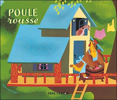Poule rousse, Illustrations d'Etienne Morel
