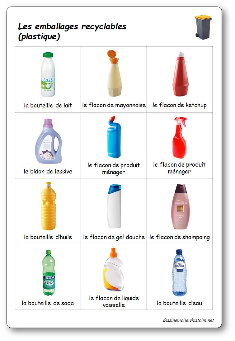 Le jeu du tri sélectif : trier les déchets plastiques