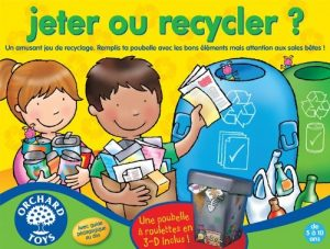 Jeter ou recycler ? Orchard Toys