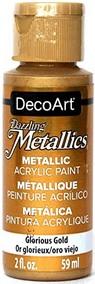 Peinture acrylique métallique doré DecoArt