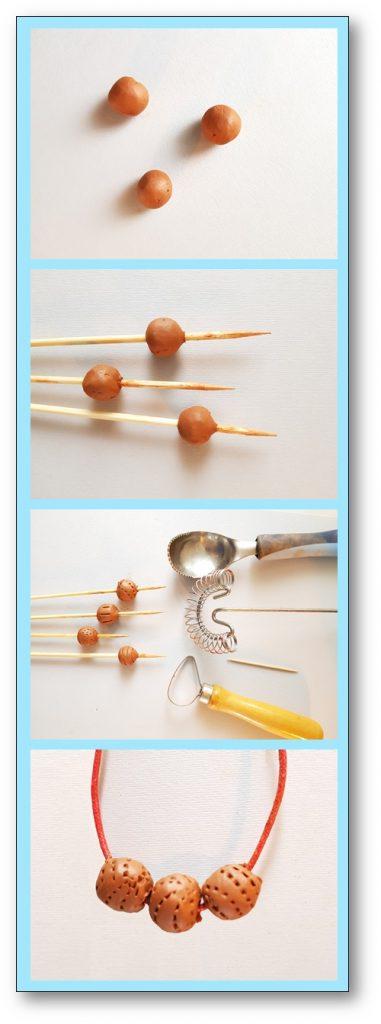 collier de perle fete des meres maternelle