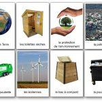 Imagier du recyclage et de l'environnement