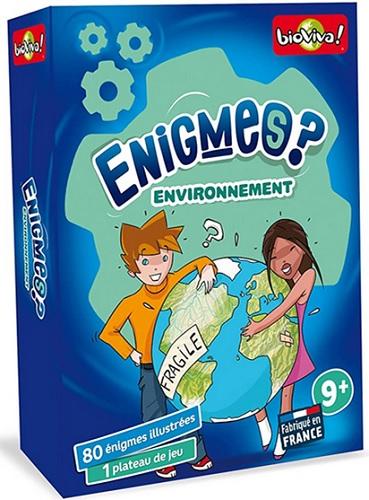 Enigmes environnement de Bioviva