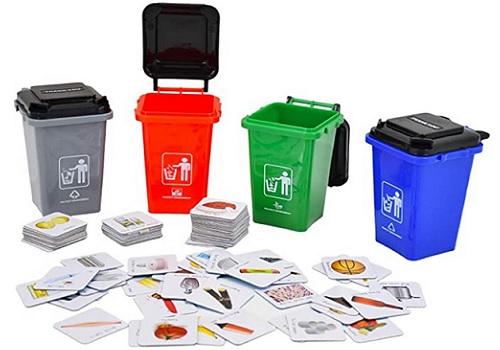 Recyclage et classification des dechets