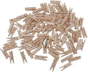 Lien Amazon Pinces à linge en bois 35mm