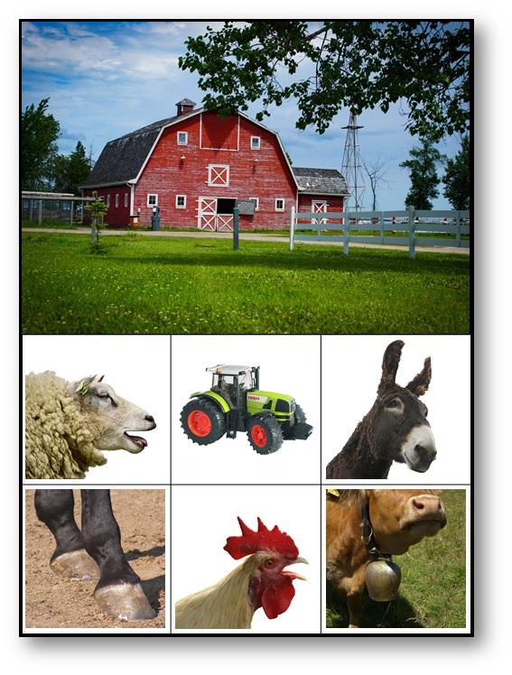 Loto des paysages sonores La ferme agricole
