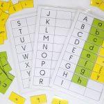 Faire correspondre des lettres de différentes graphies