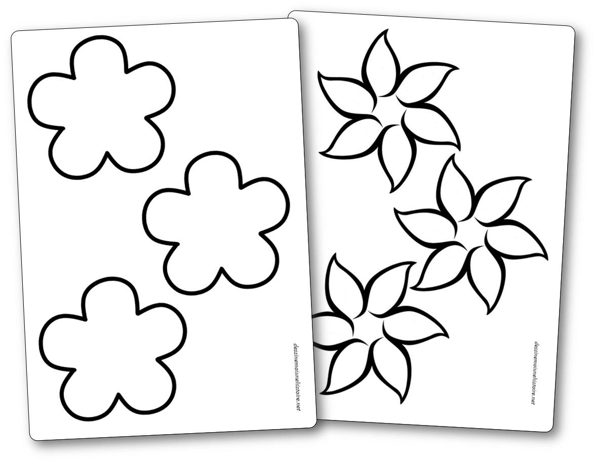 Fleurs à imprimer idée bricolage porte-photo fête des mères