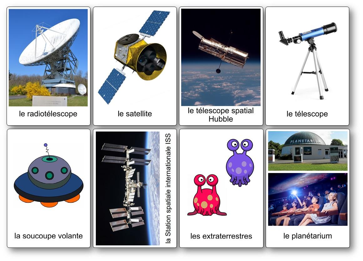imagier de l'espace observation de l'univers