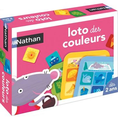 Loto des couleurs Nathan