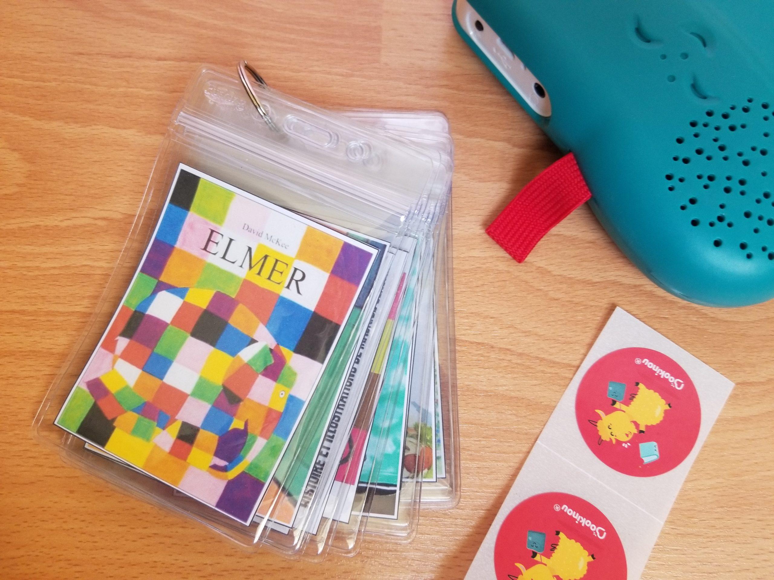 Porte-badges pour gommettes Bookinou à imprimer, bookinou avis